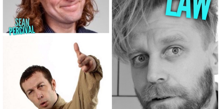 Saturday Live, with Tony Law, Sean Percival, Keith Carter as Nige & Ryan Gleeson