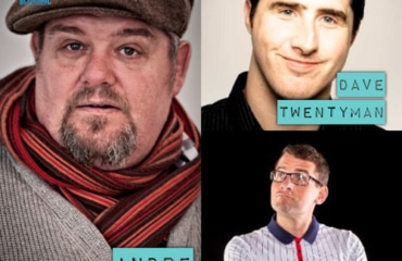 Friday Night Laughs, with Andre Vincent, Dave Twentyman, Ben Lawes & Ryan Gleeson