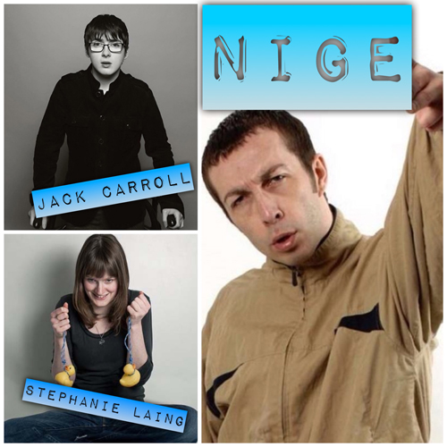 Saturday Live, with Nige, Jack Carroll, Steph Laing & Ryan Gleeson