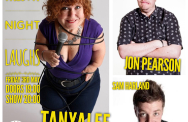 Friday Night Laughs, with Tanyalee Davis, Sam Harland, John Pearson & Ryan Gleeson