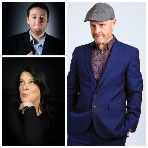 Friday Night Laughs, with Eddy Brimson, Karen Bayley & Jonathon Elston Ryan Gleeson