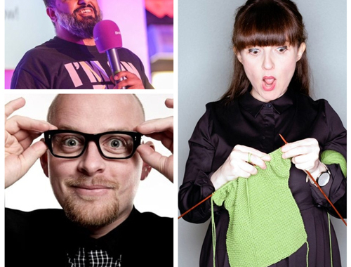 Friday Night Laughs, with Jo Enright, Dan Nightingale, Luvdev Barpaga & Ryan Gleeson