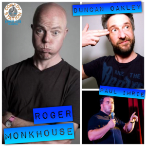 roger monk house comedy blackpool