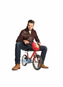 Rob Rouse on a bike