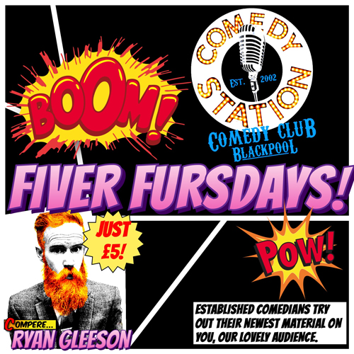 Fiver Fursdays! Edinburgh Preview